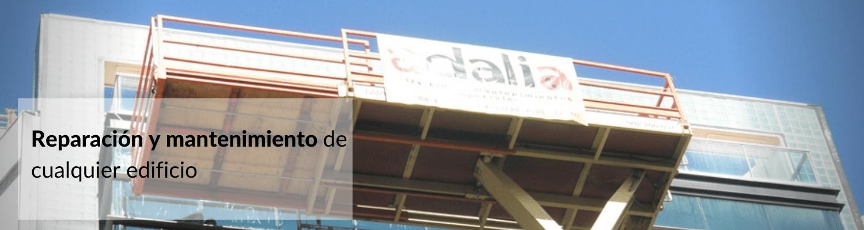 Reparación y mantenimiento de edificios