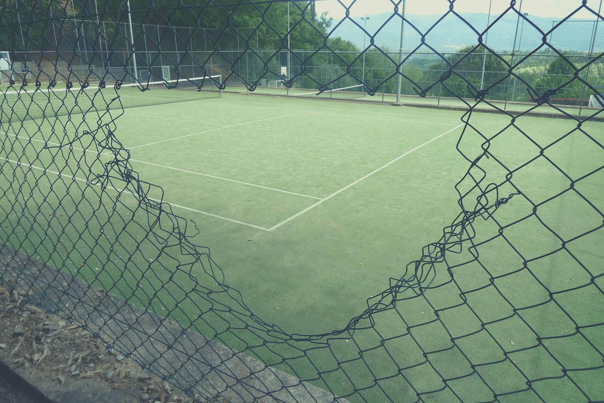 Mantenimiento de pistas deportivas