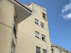 daños estructurales en edificio