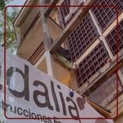daños estructurales en un edificio